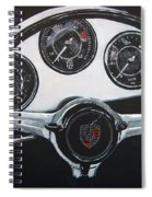 356 Porsche Dash Spiral Notebook