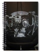356 Porsche Engine On A Vw Cover Spiral Notebook