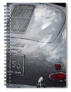 356 Porsche Rear Spiral Notebook