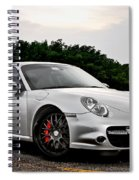 360 Forged Porsche 997tt 2 Spiral Notebook