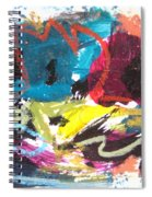 Abstract Expressionsim Art Spiral Notebook