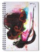 Abstract Expressionsim Art Spiral Notebook