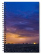 First Nebraska Storm Chase 2015 Spiral Notebook