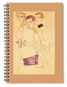 38027 Egon Schiele Spiral Notebook