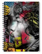 Jimi Hendrix Collection Spiral Notebook