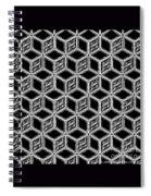 3d Blackstep Spiral Notebook