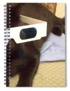 3d Cat Spiral Notebook