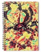3d Color Dragon Spiral Notebook