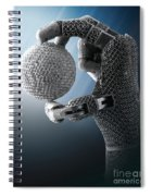 3d Printing Additive Robotic Hand Spiral Notebook