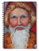 3d Santa Spiral Notebook