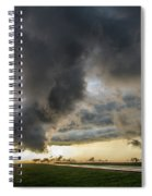 3rd Storm Chase Of 2018 051 Spiral Notebook