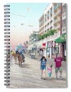 3rd Street Ocean City Md Spiral Notebook