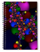3x1 Abstract 908 Spiral Notebook