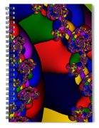 3x1 Abstract 909 Spiral Notebook