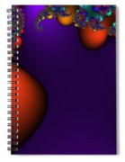 3x1 Abstract 910 Spiral Notebook