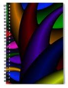 3x1 Abstract 915 Spiral Notebook