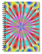 3x1 Abstract 918 Spiral Notebook