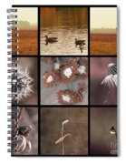 3x3 Brown Spiral Notebook