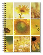 3x3 Yellow Spiral Notebook