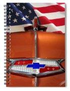 1954 Chevrolet Hood Emblem Spiral Notebook