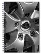 2011 Lotus Euora Wheel Emblem Spiral Notebook