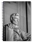 Abraham Lincoln Memorial In Washington Dc Usa Spiral Notebook