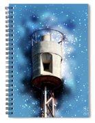 Air Raid Siren Spiral Notebook