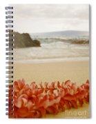Aloha Lei Maui Hawaii Spiral Notebook