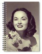 Ann Blyth, Vintage Actress Spiral Notebook