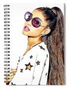 Ariana Grande Spiral Notebook