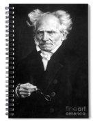 Arthur Schopenhauer Spiral Notebook