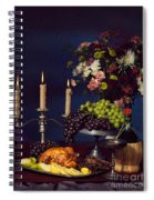 Artistic Food Still Life Spiral Notebook