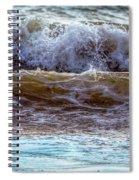 Atlantic Waves Spiral Notebook