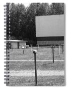 Auburn, Ny - Drive-in Theater Bw Spiral Notebook