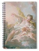 Aurora And Cephalus Spiral Notebook