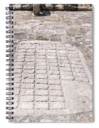 Ball Court At The Coba Ruins  Spiral Notebook