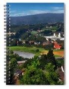 Bavarian Landscape Spiral Notebook