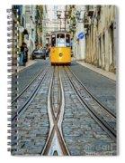 Bica Funicular, Lisbon, Portugal Spiral Notebook