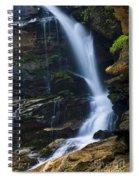 Big Bradley Falls North Carolina Spiral Notebook