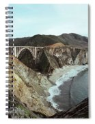 Bixby Creek Bridge Big Sur Photo By Pat Hathaway Spiral Notebook