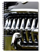 Black Corvette Spiral Notebook