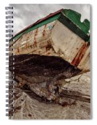 Boats By The Sea Spiral Notebook