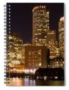Boston Massachusetts Spiral Notebook