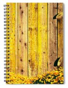 California Golden Poppies Eschscholzia Spiral Notebook