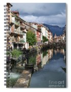 Canals Of Annecy Spiral Notebook