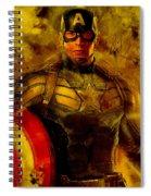 Captain America Spiral Notebook
