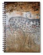 Cave Art: Horse Spiral Notebook