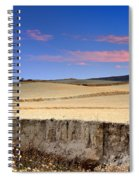 Cereal Fields Spiral Notebook