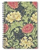 Chrysanthemum Spiral Notebook