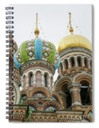 Church Of The Savior On Spilled Blood  Spiral Notebook